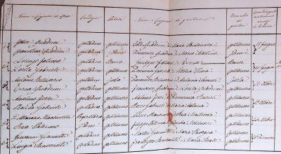 Indici atti di matrimonio (1809-1861)